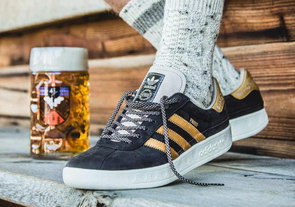 ADIDAS RELEASES VOMIT AND BEER RESISTANT SNEAKERS — Adidas