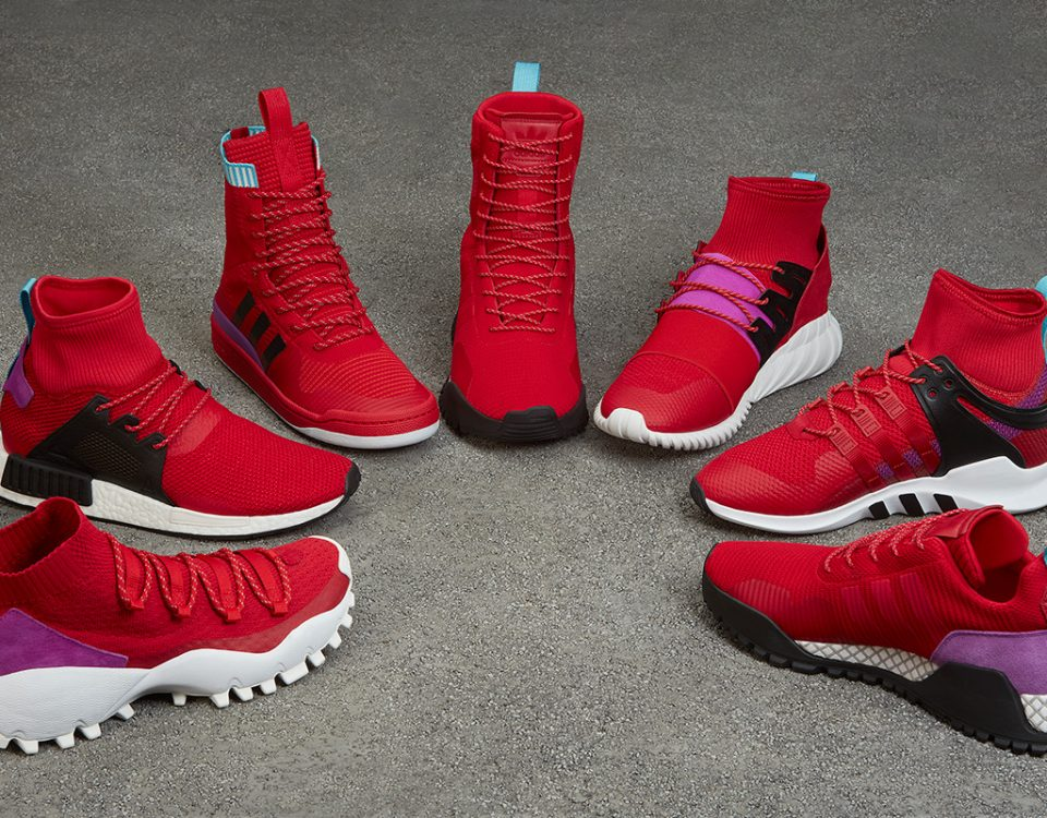 adidas Originals Drops a Red Hot Sneaker Pack for Winter 2017 69efd6f38