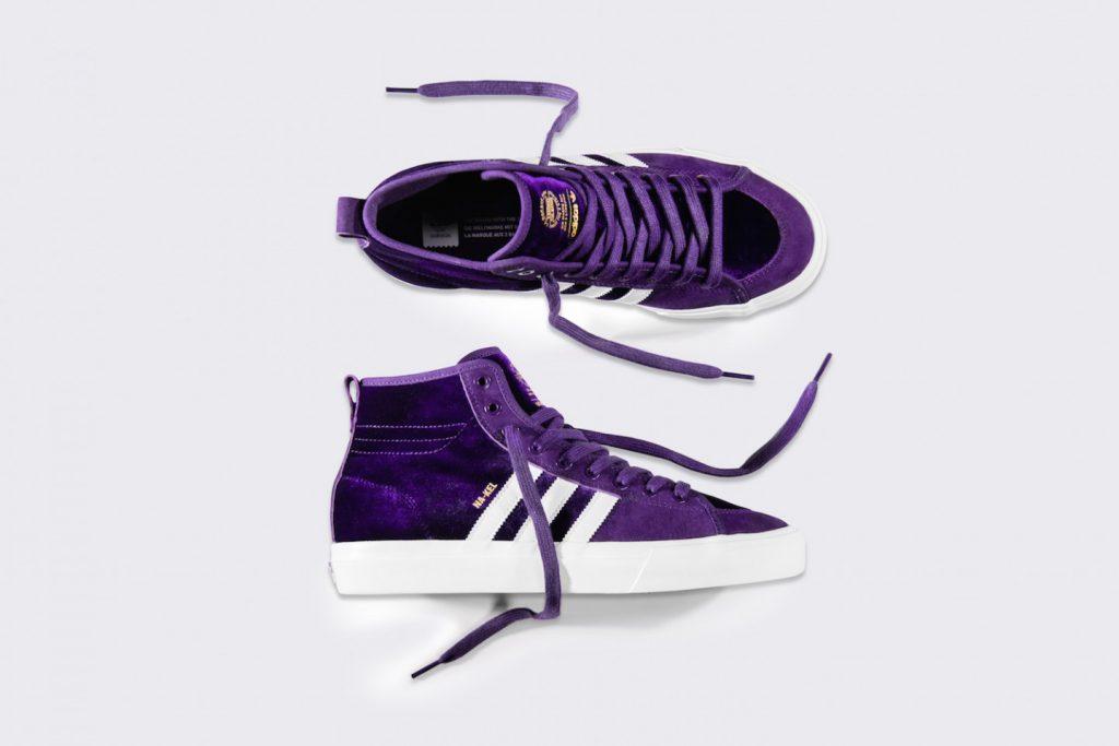 quality design da61a cf2cc Na-Kel Smiths adidas Matchcourt High RX Gets a Purple Makeover