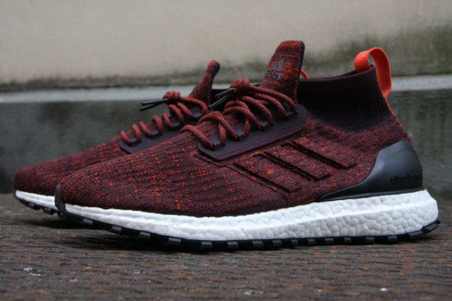 adidas Ultra Boost 4.0 Burgundy and Navy Colorways Shoes