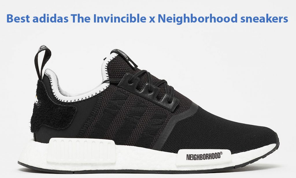 a3f3f1e67a6ff The Invincible x Neighborhood x adidas NMD R1 Releases Worldwide Next Week