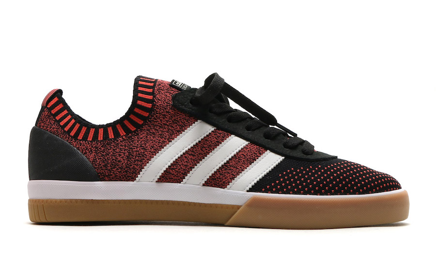 "hot sale online 0f22b dda3f ADIDAS LUCAS PREMIERE PRIMEKNIT ARRIVES IN ""TRACE SCARLET"" AND ""COLLEGE  NAVY"""