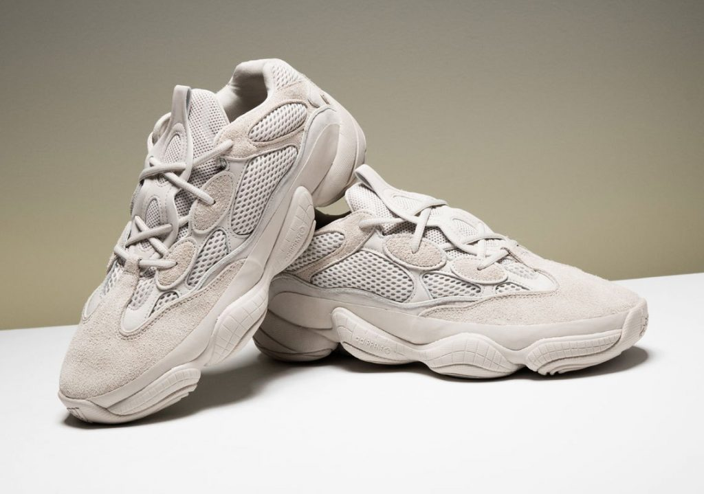"""ec4115bf2 Detail look of The Yeezy 500 """"Blush"""""""