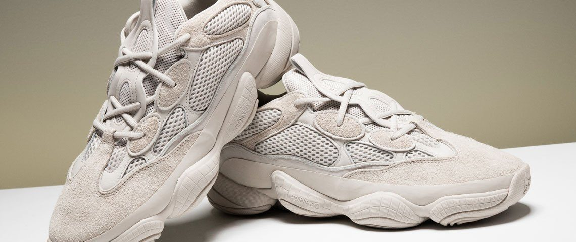 "7c9d94881 Detail look of The Yeezy 500 ""Blush"" — Adidas"
