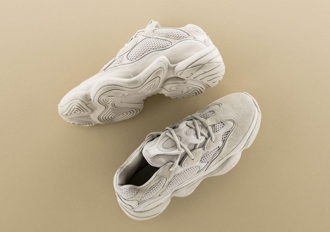 "158ab9da0a248 Detail look of The Yeezy 500 ""Blush"" — Adidas"