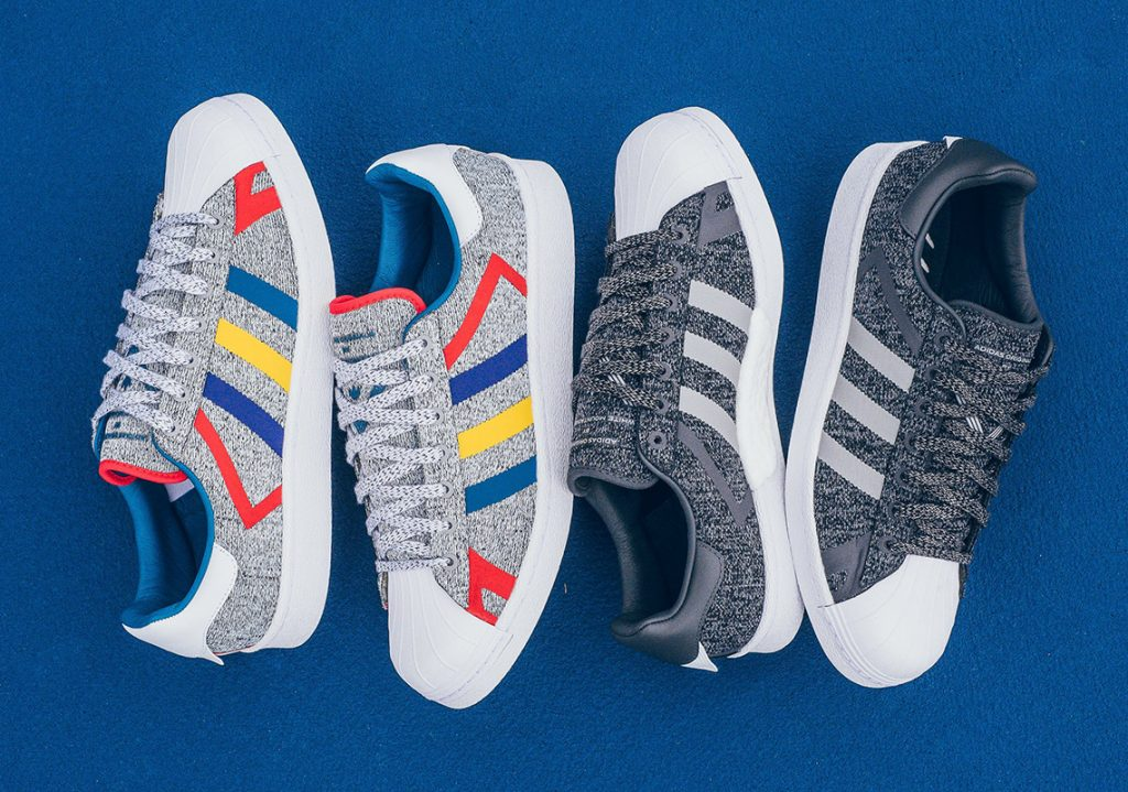 Conquer Brazil Blue Grey Adidas Superstar Forum Lo Shoes